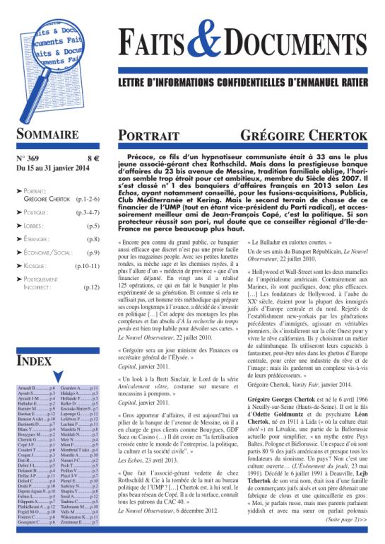 Faits et documents n° 369 pdf