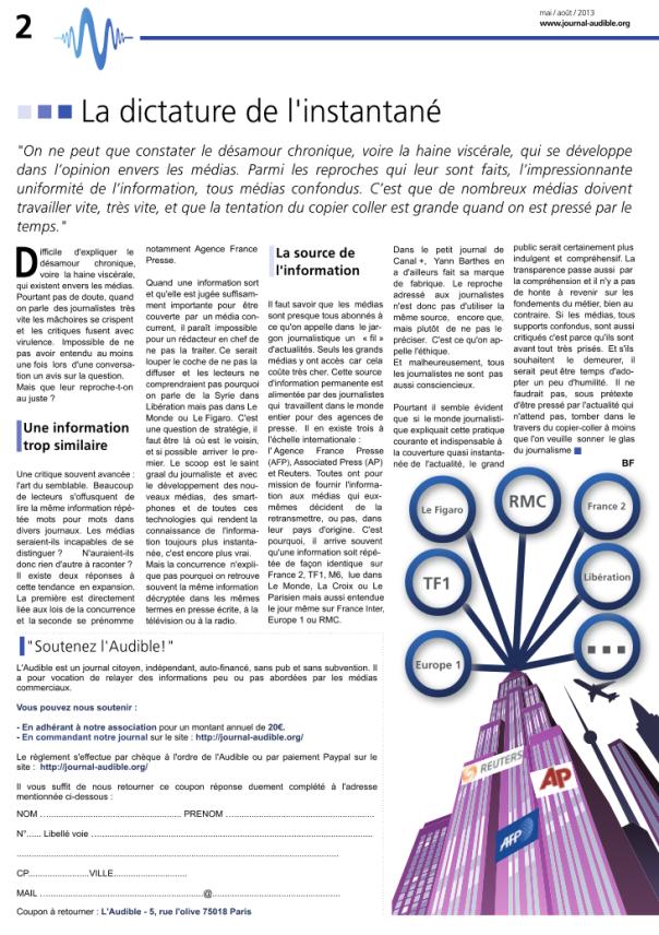 l'audible n°3 pdf