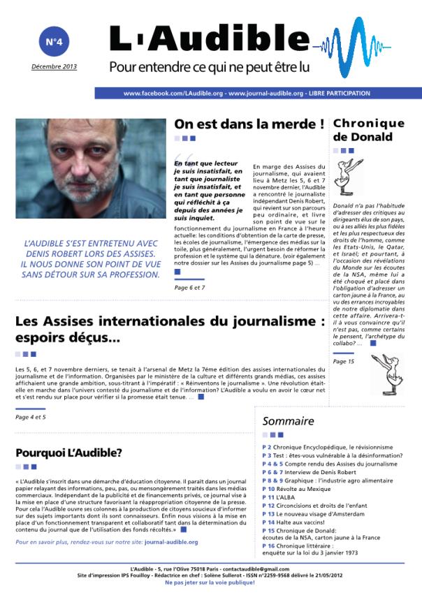 L'audible n°4 pdf